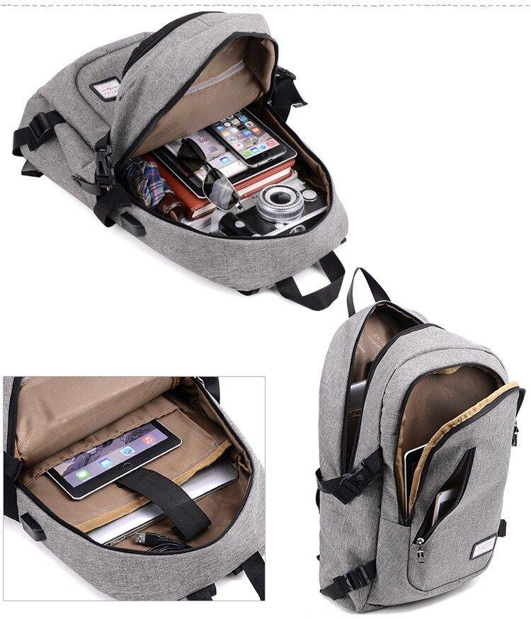 Multifunction USB Charging Backpacks